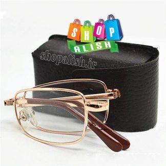 عینک مطالعه تاشو جیبی