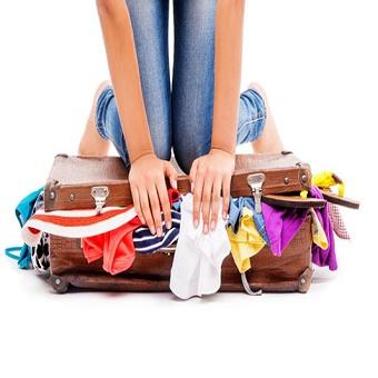 بهترین روش برای کم کردن وزن وسایل مورد نیاز سفر