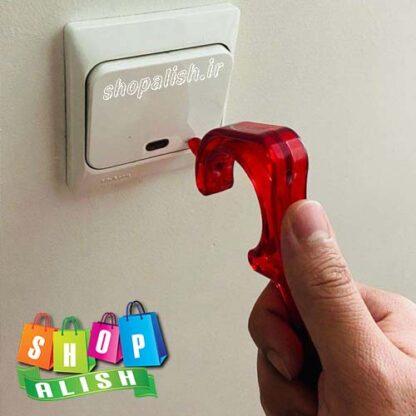 دستگیره ضد کرنا در کلید چراغ